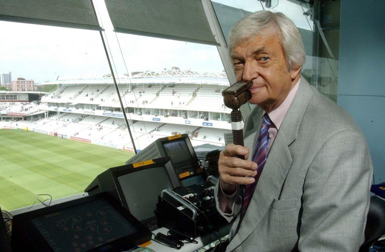 Richie Benaud commentated on the 2005 Ashes