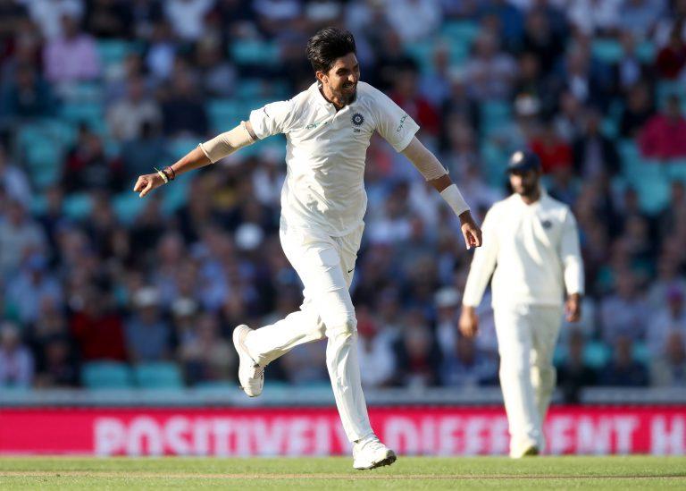 Ishant Sharma took his 300th Test wicket on Monday (John Walton/PA)