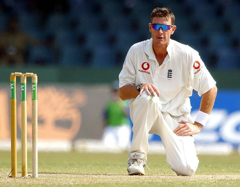Ashley Giles had a match to remember in Colombo.