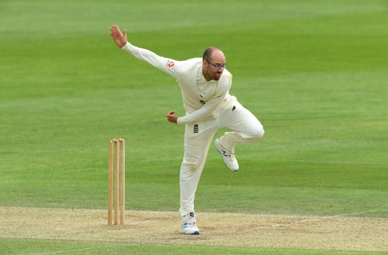 Jack Leach has been on song with the ball in Chennai.