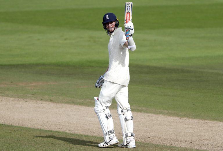 Crawley made a half-century on day one last week