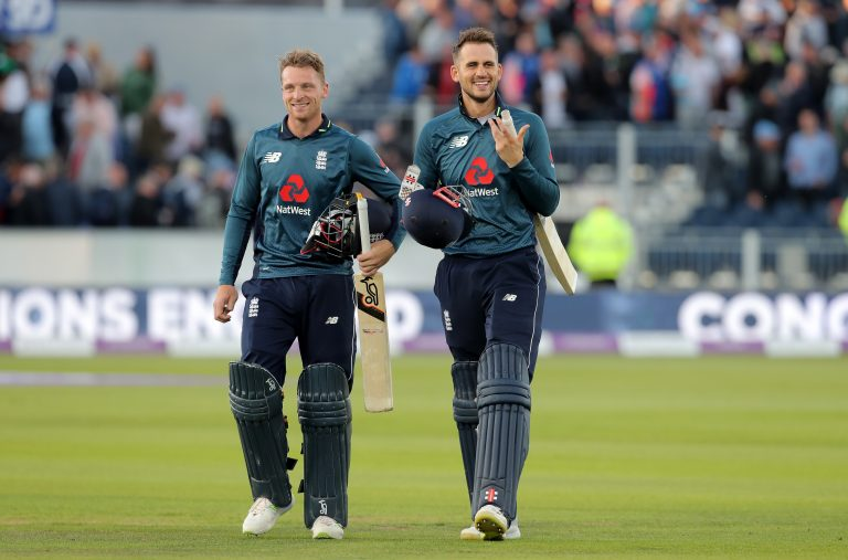 The chances of Buttler (left) and Alex Hales (right) playing together again have increased.