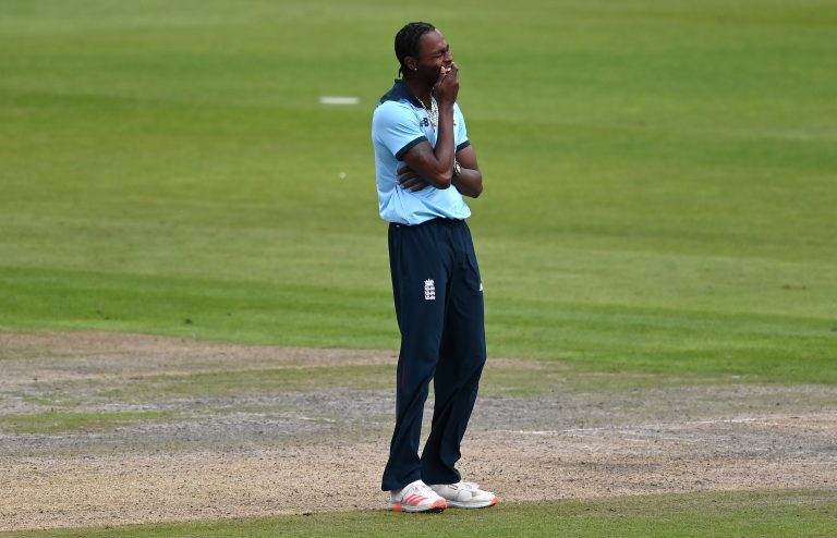 Jofra Archer has been bothered by his troublesome right elbow recently (Shaun Botterill/PA)