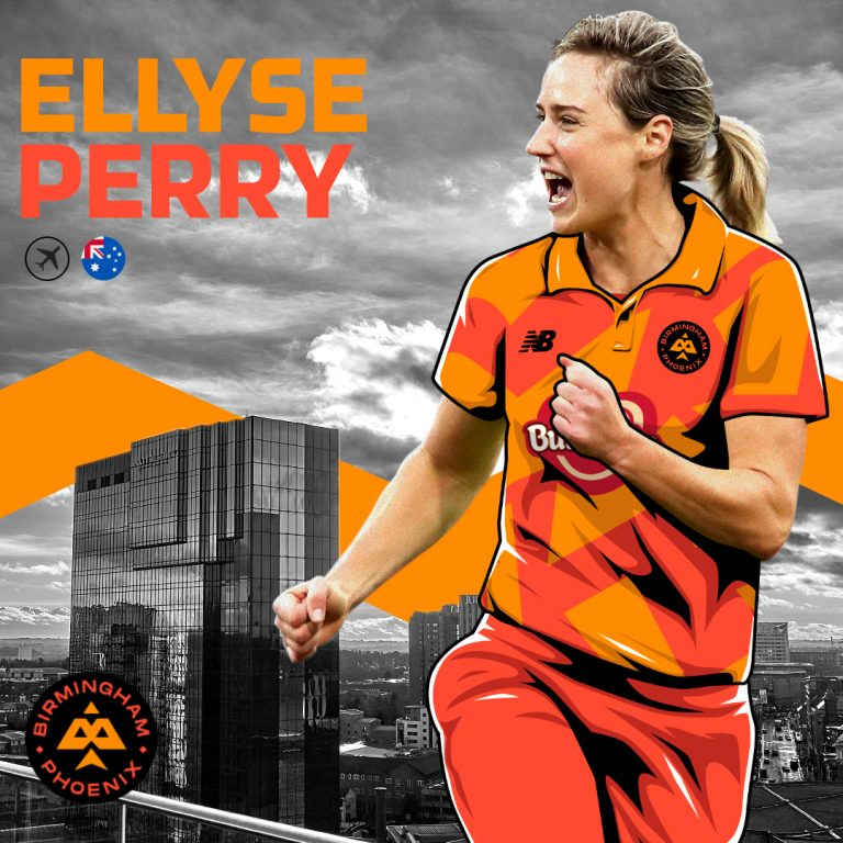 Ellyse Perry will turn out for Birmingham Phoenix. (ECB handout)