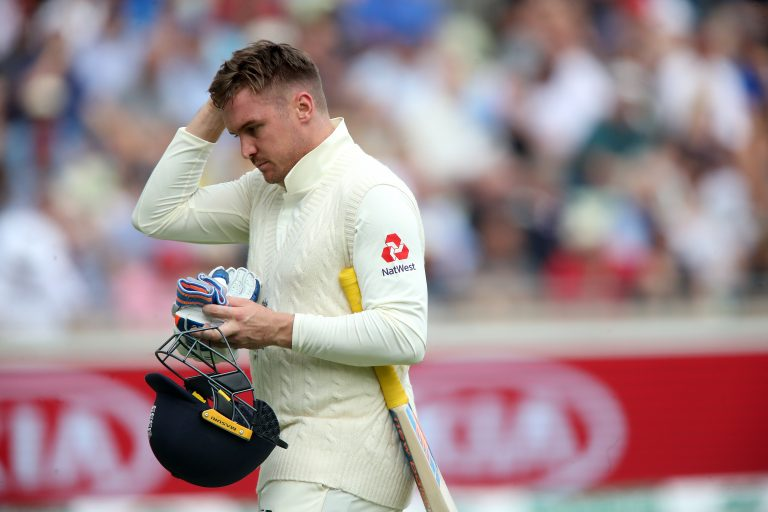 Batted back - Jason Roy suffered an unusual injury last summer