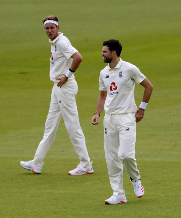 England's old firm of Stuart Broad (left) and James Anderson (right) have been a source of inspiration.