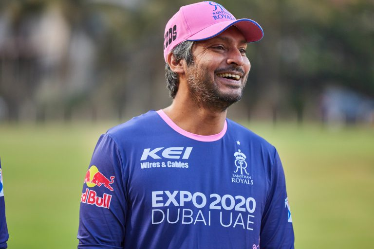 Kumar Sangakkara is heading up Rajasthan Royals' IPL campaign.