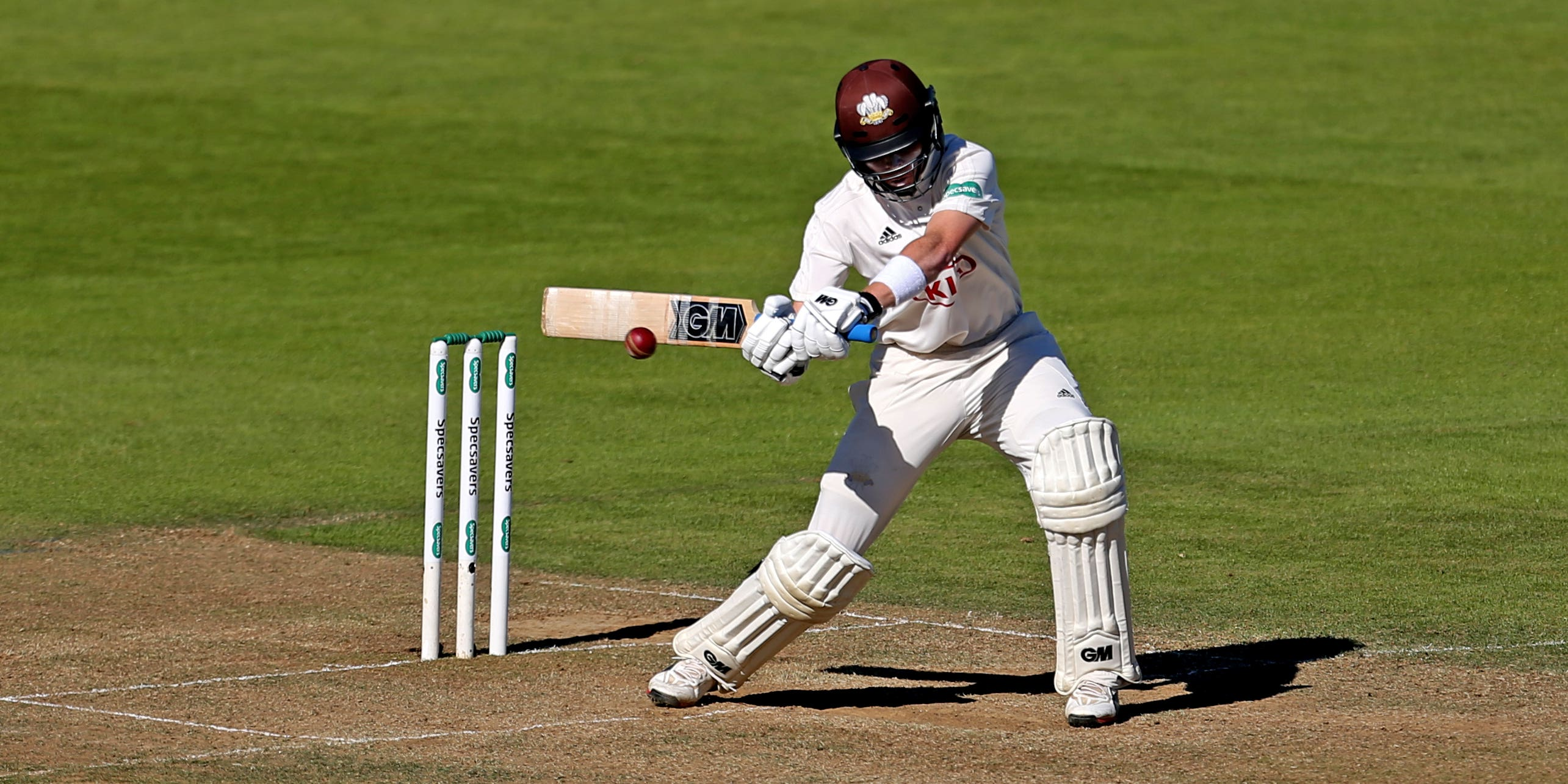 Ollie Pope hits 245 as Surrey take upper-hand over Leicestershire on day three