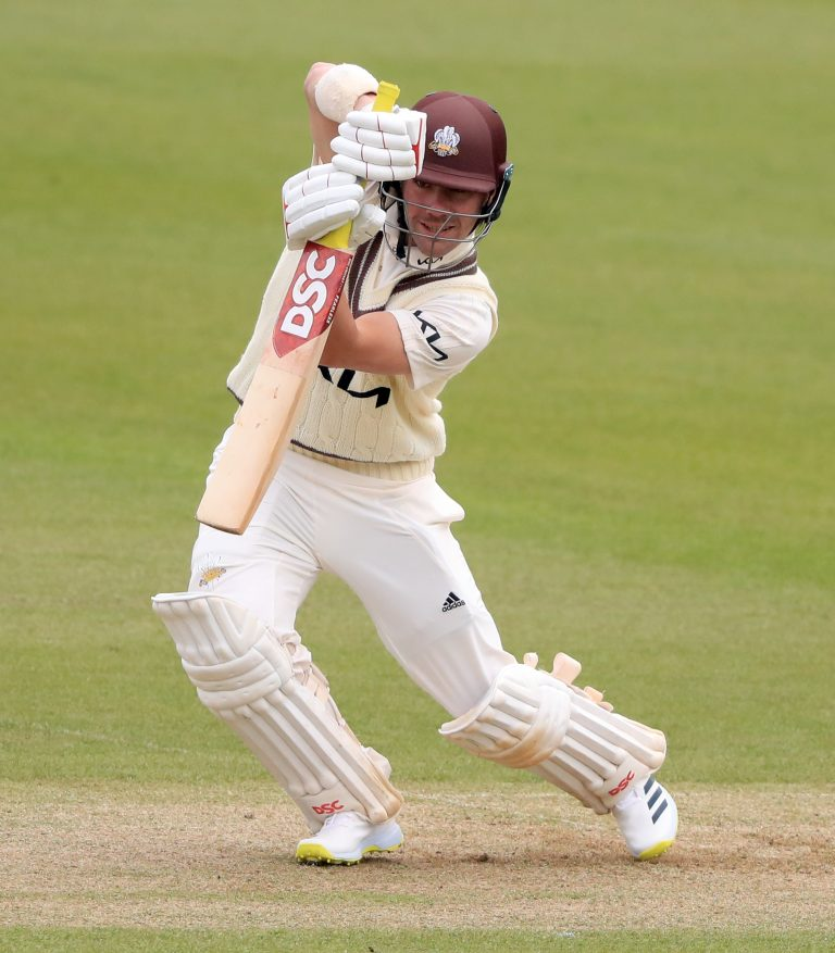 Rory Burns scored a third half-century of the season for Surrey