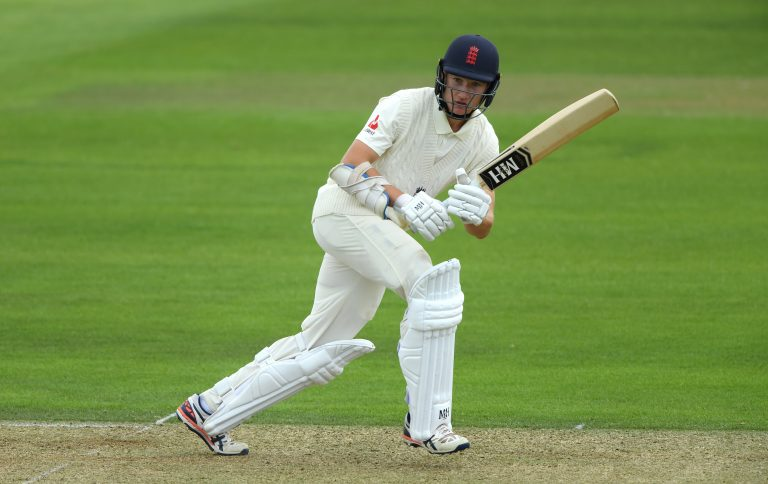 James Bracey was also looking to impress the England selectors