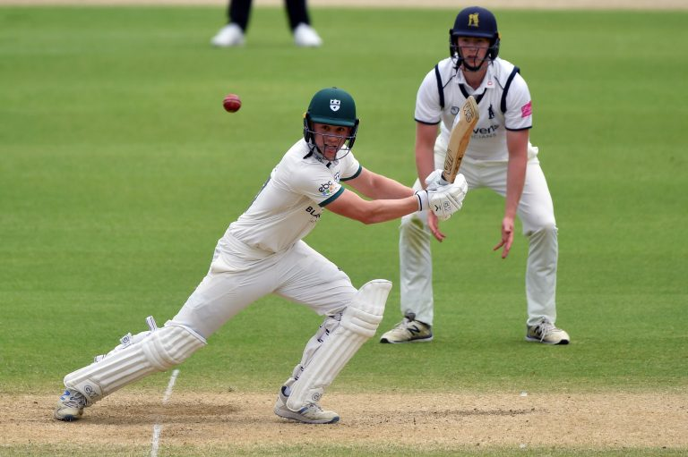 Worcestershire's Jack Haynes hit a career-best 87 in the County Championship draw with Warwickshire