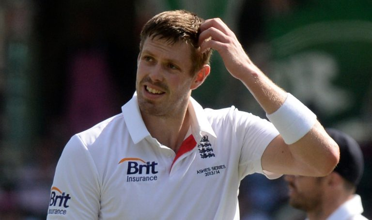 Rankin had a tough time on his only England Test appearance.