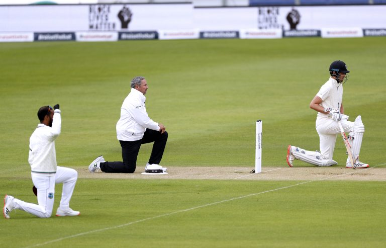 England first took a knee during the West Indies Test series but later dropped the practice.