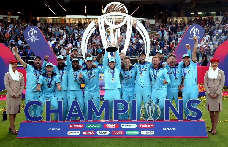 England won the 2019 World Cup after beating New Zealand in the final (Nick Potts/PA)