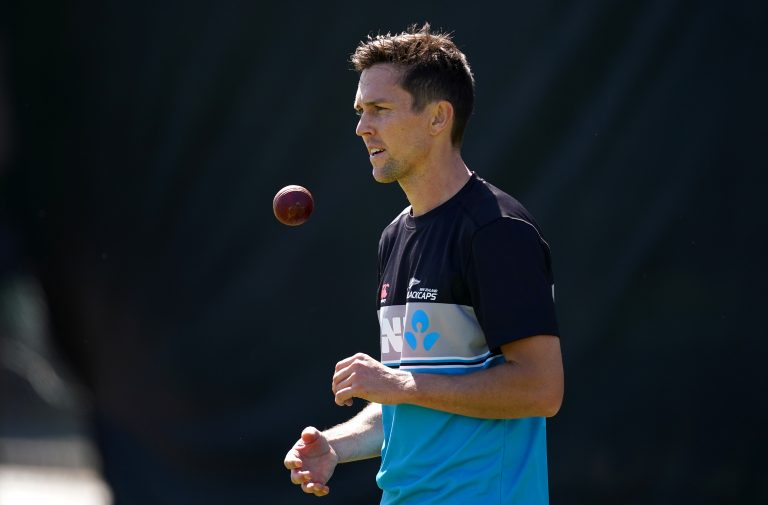 Trent Boult is back in contention after a delayed arrival in England.