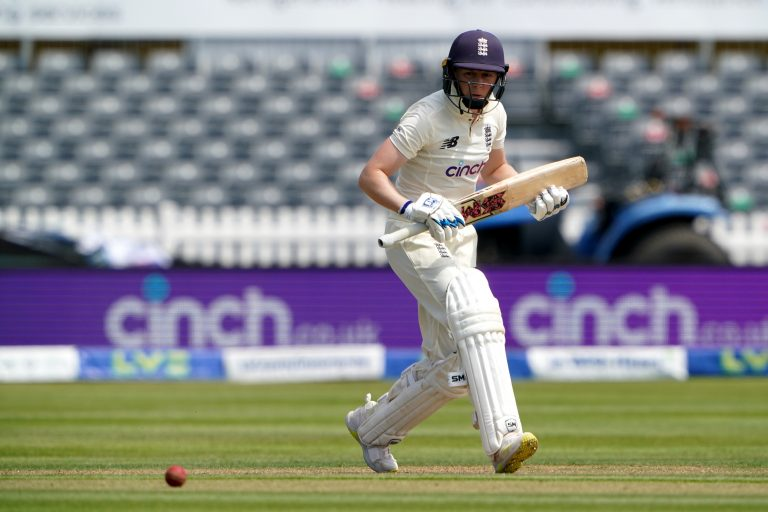 Knight struck an important 95 on day one at the Bristol County Ground