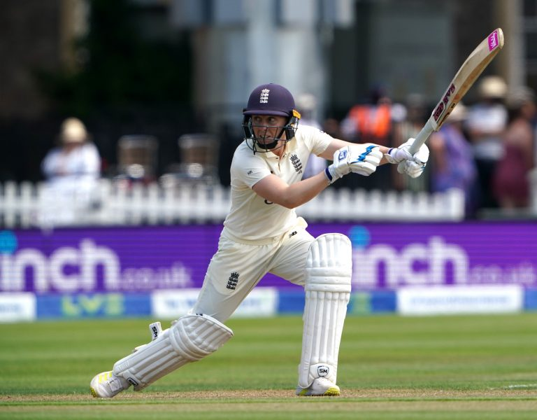 Knight scored 95 as England gave themselves a good platform going into the second day