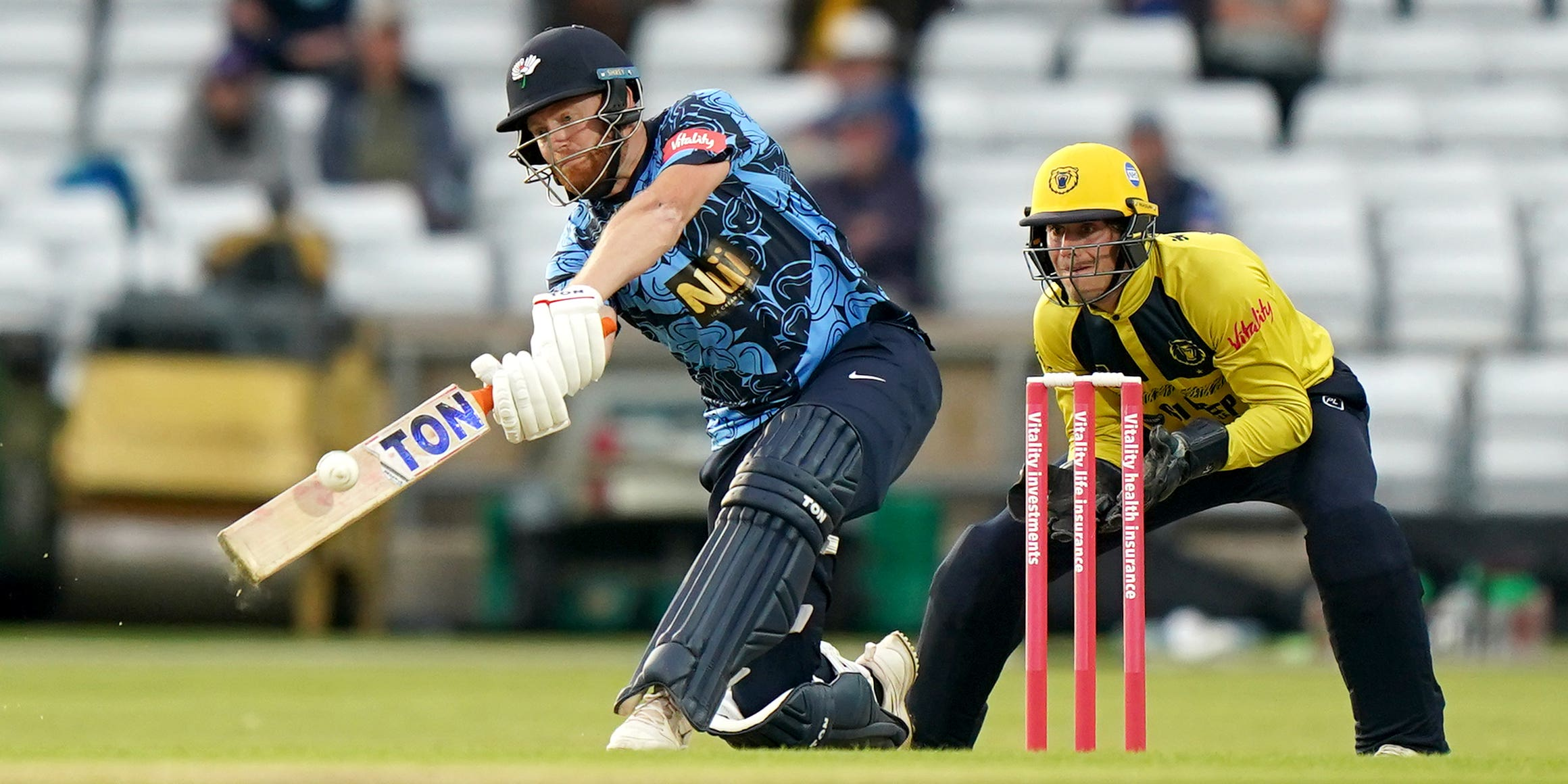 Jonny Bairstow suffers injury in Yorkshire's win over Worcestershire