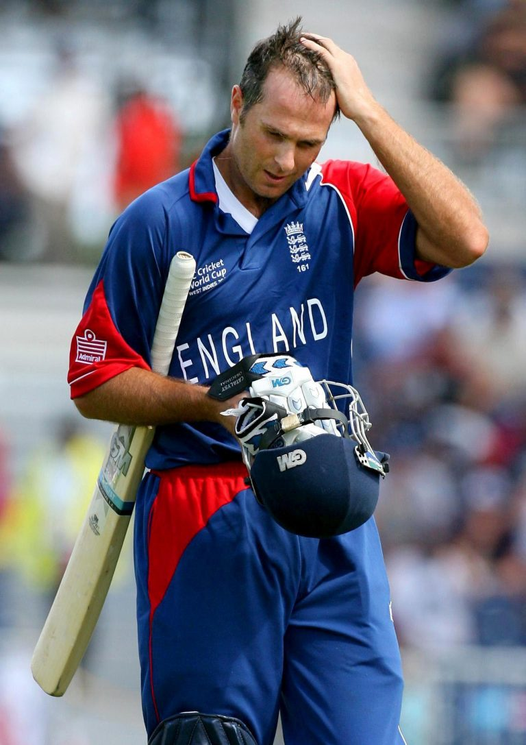 Michael Vaughan was unable to establish himself as a consistent run-scorer in ODI cricket