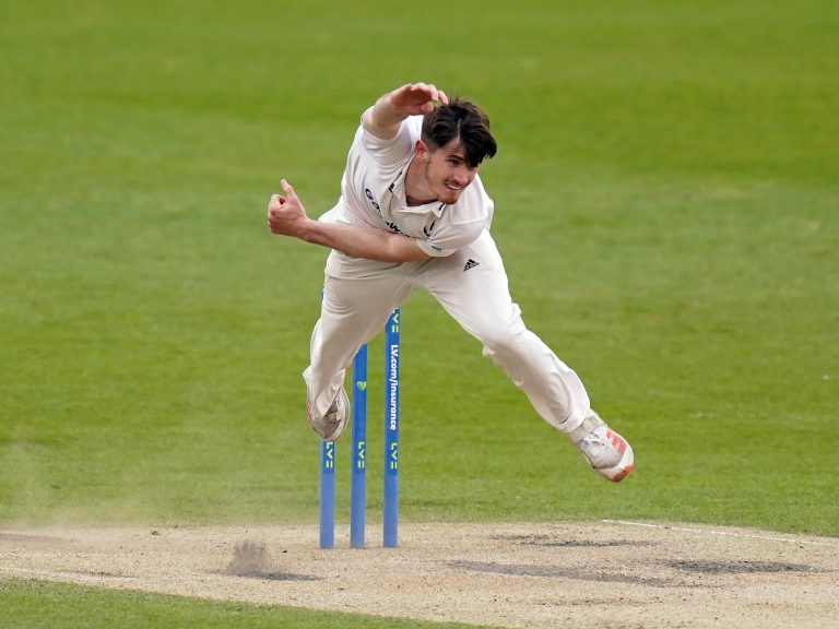 Sussex bowler George Garton has been named in England's one-day squad