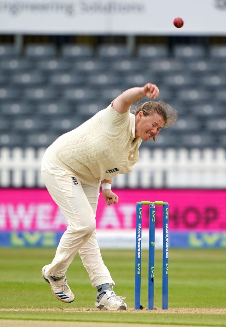 England v India – Women's International Test – Day Four – Bristol County Ground