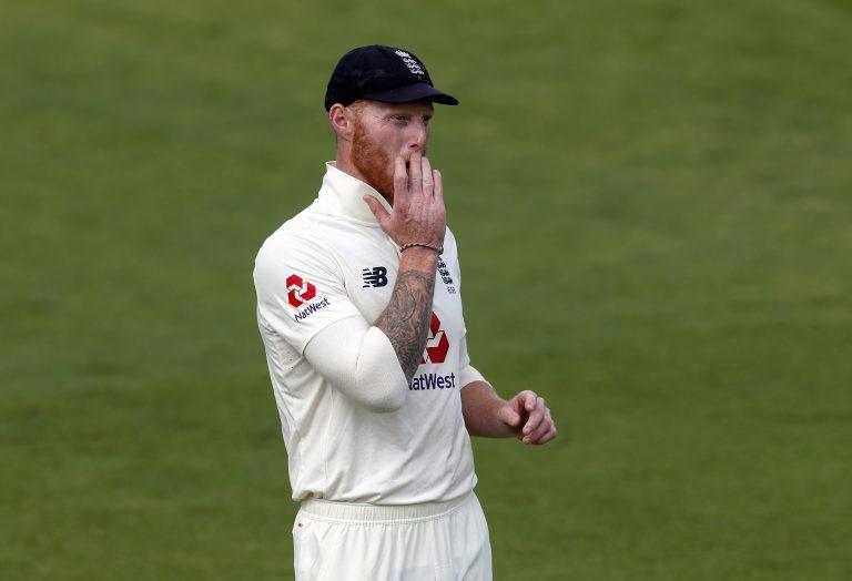 England's Ben Stokes in action