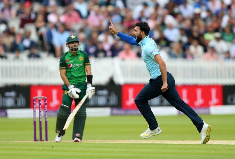 Saqib Mahmood made an impression against Pakistan