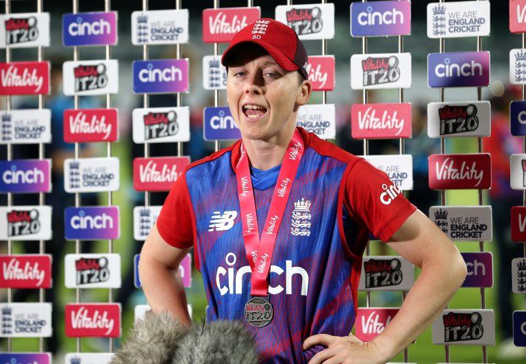 England's Heather Knight will captain London Spirit