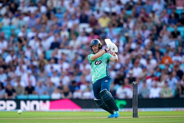 Sam Billings ensured the hosts posted a competitive score