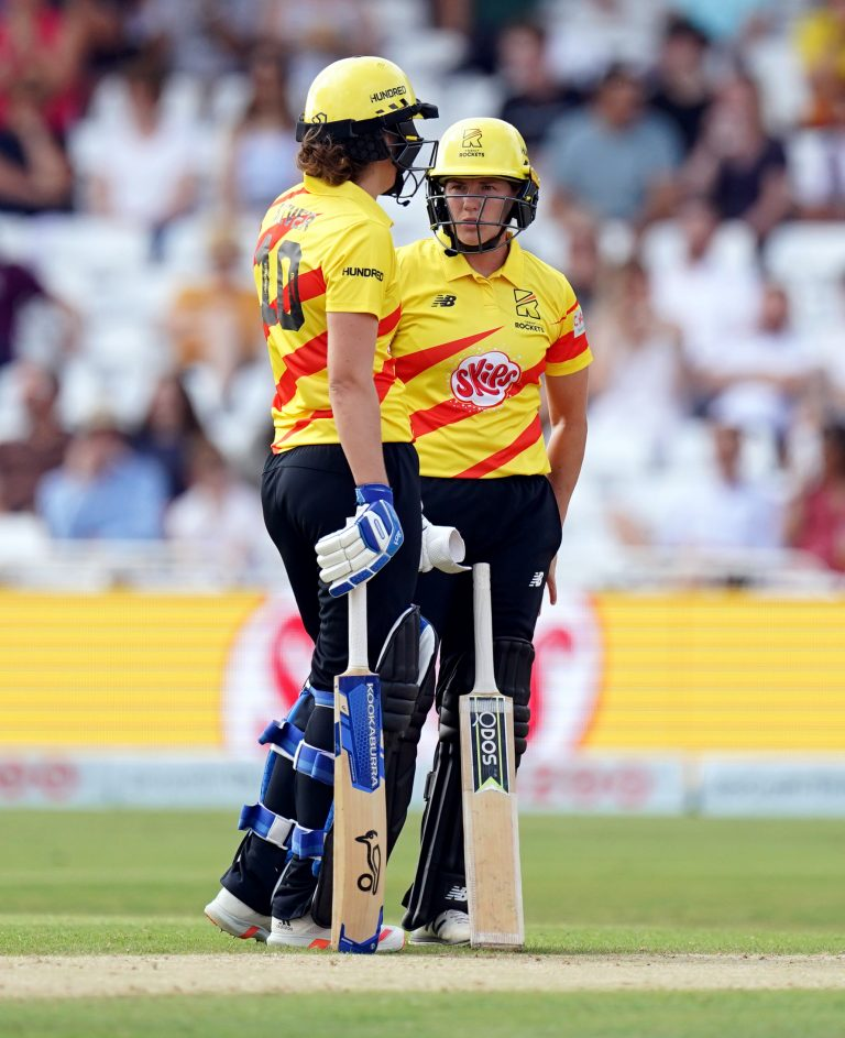 Brunt and Sciver have been England teammates for his, with the couple also playing for Trent Rockets in The Hundred