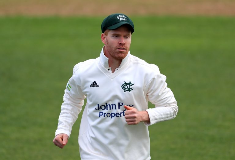 Ben Compton helped Nottinghamshire win their final Royal London Cup group game