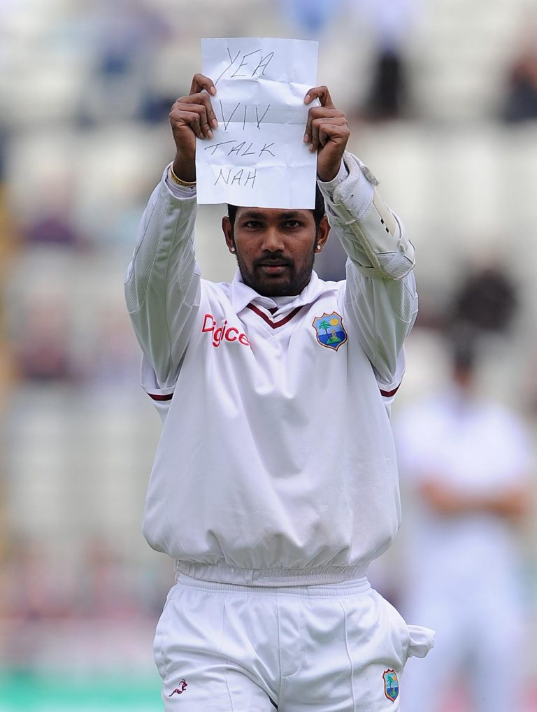 Denesh Ramdin, pictured, responded to criticism from Sir Viv Richards (Nigel French/PA)