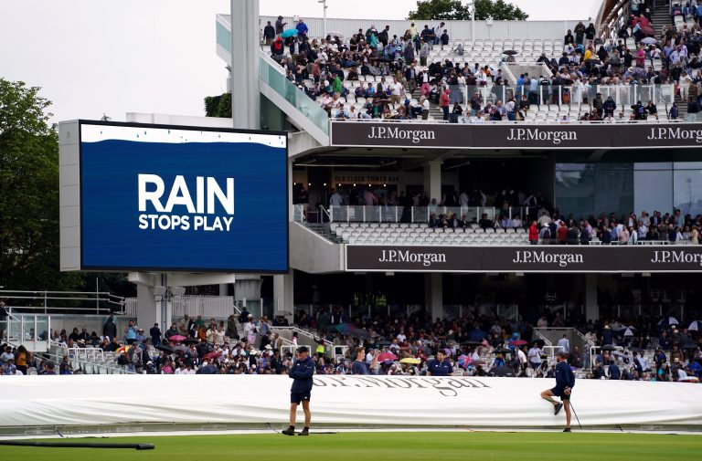 It was a frustrating morning at Lord's