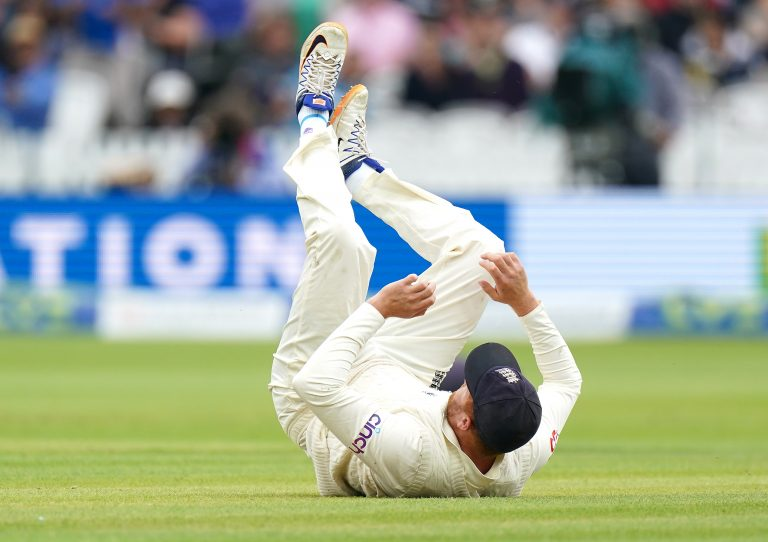 England's Jonny Bairstow was unable to pull off a wonder catch at short-midwicket