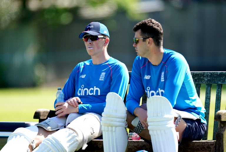 Zak Crawley, left, and Dom Sibley have both been omitted from England's squad for the third Test against India (Mike Egerton/PA)