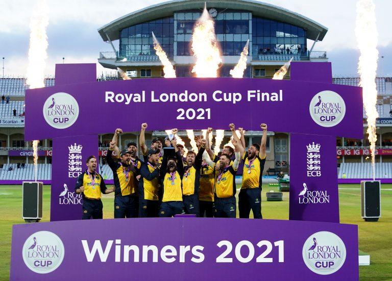 Glamorgan won the Royal London Cup at Trent Bridge (Zac Goodwin/PA)