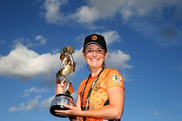 Charlotte Edwards captain Southern Vipers to victory in the first Kia Super League in 2016 (Steve Paston/PA)