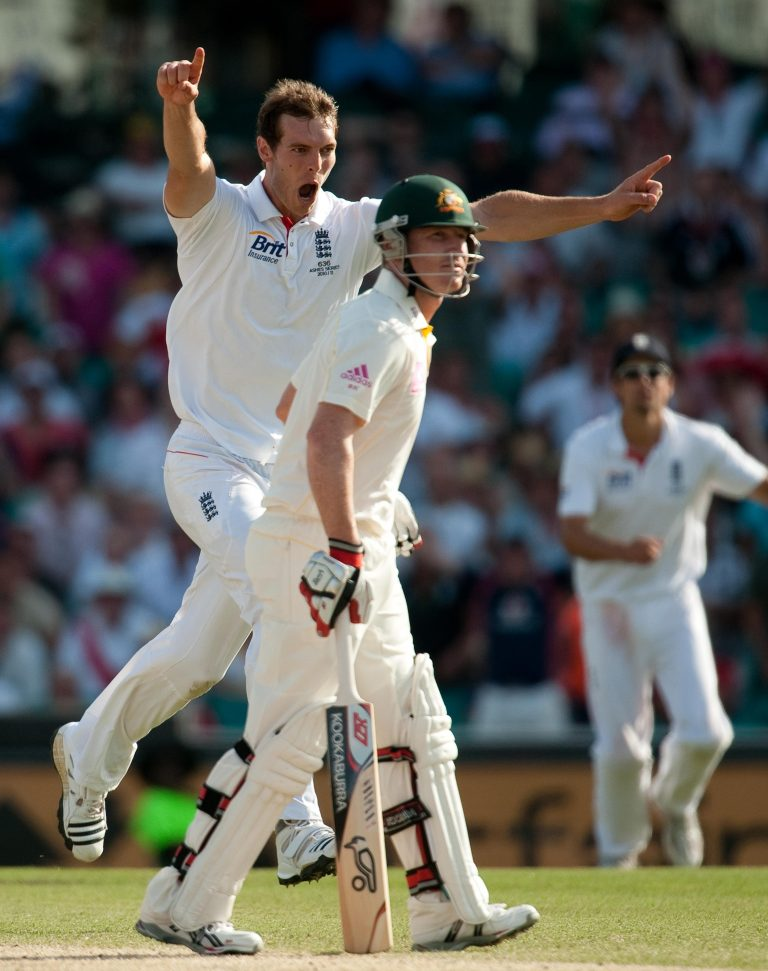 Cricket – 2010 Ashes Series – Fifth Test Match – Australia v England – Day Four – Sydney Cricket Ground