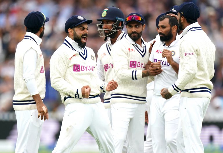 Kohli was in animated form at Lord's in the second Test.