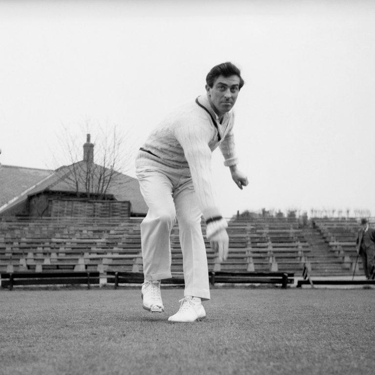 Fred Trueman took eight Indian wickets