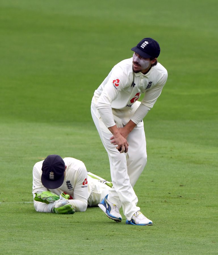 Rory Burns missed two slips catches at the Kia Oval.