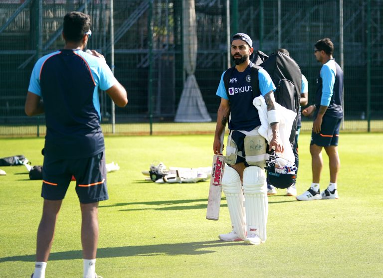 India cancelled training on Thursday