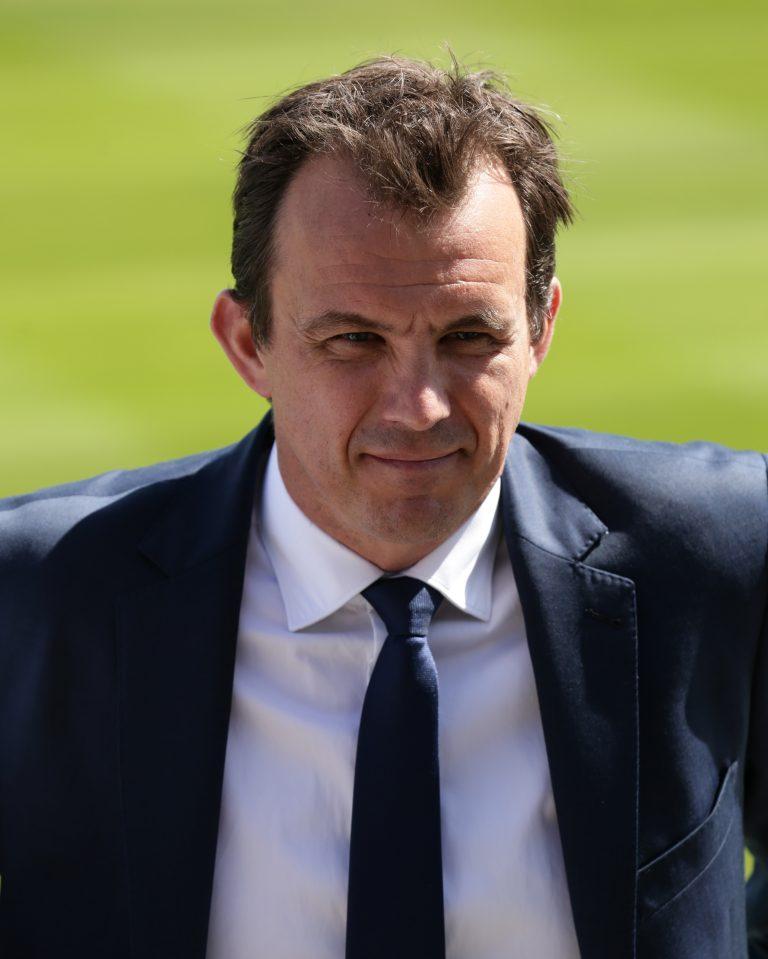 ECB chief executive Tom Harrison