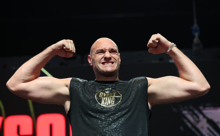 Tyson Fury, pictured, takes on Deontay Wilder next month (Bradley Collyer/PA)
