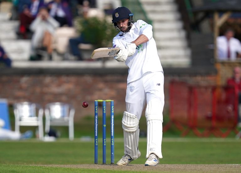 James Vince scored 69 for Hampshire on day two against Lancashire