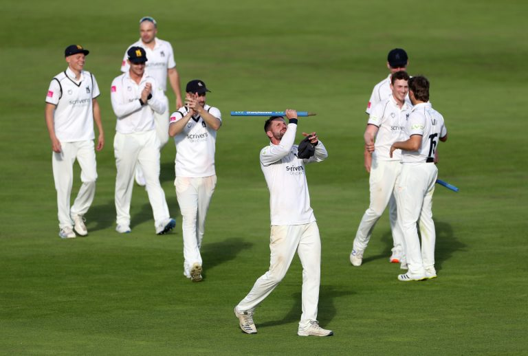 Warwickshire were crowned county champions for the eighth time