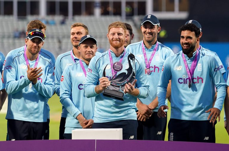 Ben Stokes captained England to a one-day series victory over Pakistan in the summer (Martin Rickett/PA)