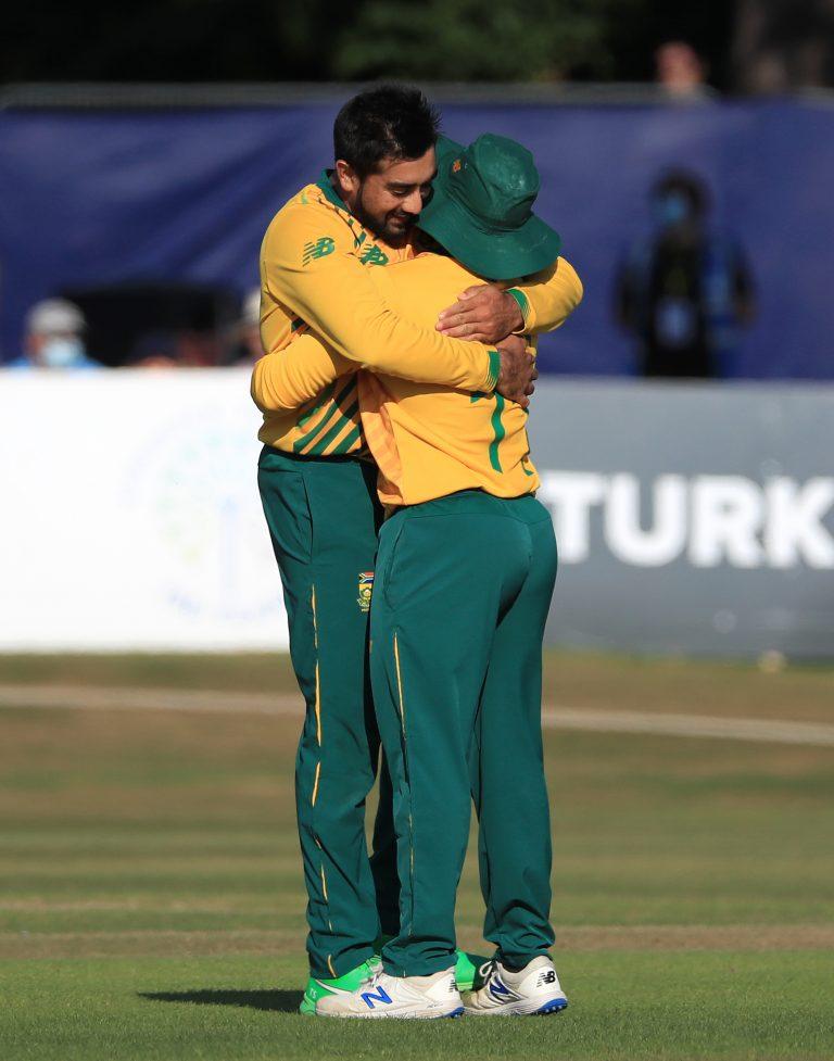 Tabraiz Shamsi has enjoyed a fine 2021 for South Africa
