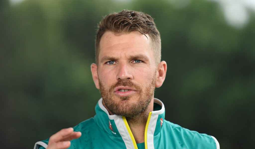 Ashes Aaron Finch