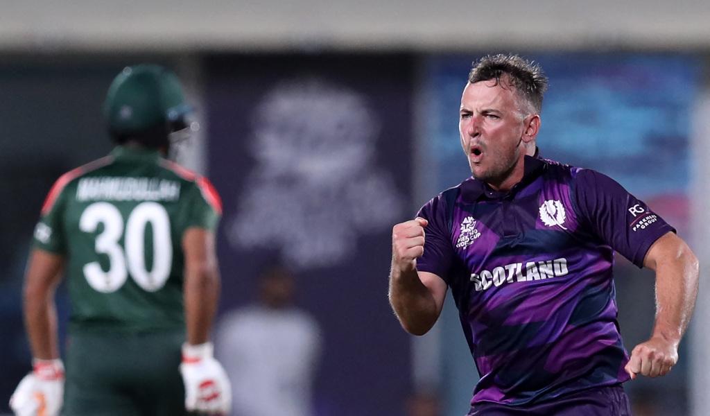 T20 World Cup result: Scotland pip Bangladesh in thriller